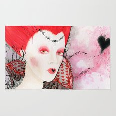The Queen of Hearts Rug