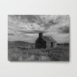 The Forgotten Cottage Metal Print