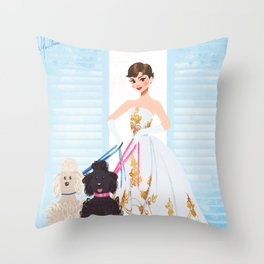 Sabrina - Audrey Hepburn Throw Pillow
