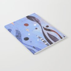BLUE UNTITLED Notebook