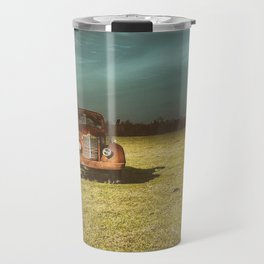 Lost In Time Truck Travel Travel Mug