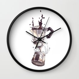 If all else fails, Coffee! Wall Clock