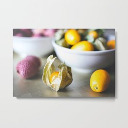 Little Fruit Metal Print