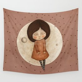 Moon Song 4 Wall Tapestry
