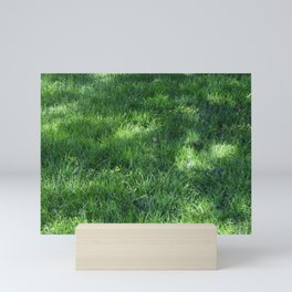 Speckled Turf Mini Art Print