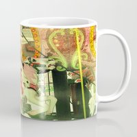 carousel Mugs featuring Carousel by elle moss