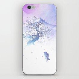 The long way to Fuji iPhone Skin