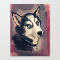 archer Canvas Prints featuring Archer by pandatails