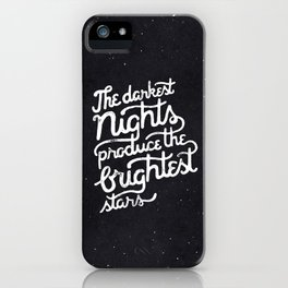 Darkest Nights iPhone Case