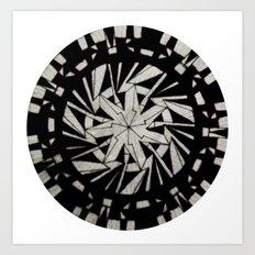 Spinny 5 Art Print