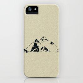 Splaaash Series - Pyramids Ink iPhone Case