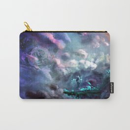 Water Temple in the Sky Carry-All Pouch
