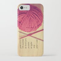 scripture iPhone & iPod Cases featuring Psalm 139 Baby Scripture by KimberosePhotography