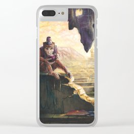Klepto Clear iPhone Case