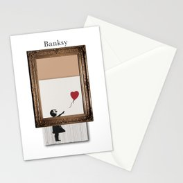 Girl With the Red Balloon Banksy Shredded Stationery Cards