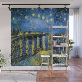 Vincent van Gogh Starry Night over the Rhone Wall Mural