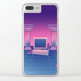 BSoD コンピュータの死 Clear iPhone Case