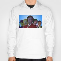 anchorman Hoodies featuring Anchorman by CultureCloth