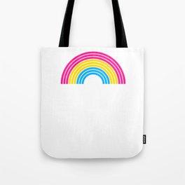 Pansexual Rainbow design LGBTQ Pride Gift Idea Tote Bag