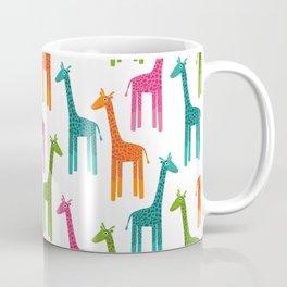 Giraffes-Multicolor Coffee Mug
