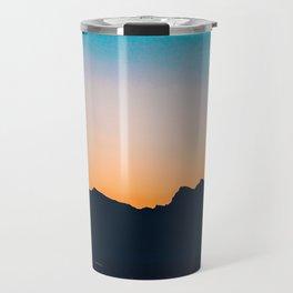 The Mountain After Sunset Travel Mug