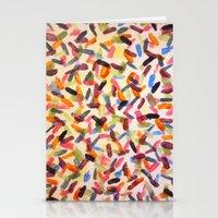 sprinkles Stationery Cards featuring Sprinkles by Rachel Butler