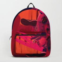 Neon Shiba Backpack