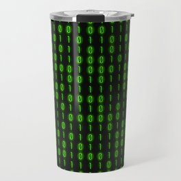 Binary Code Inside Travel Mug