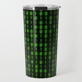 Binary Code Inside Travel Mug