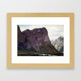 Johan Fredrik Eckersberg From Horgheim in Romsdal Framed Art Print