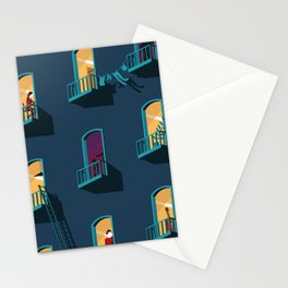 Behind Stationery Cards