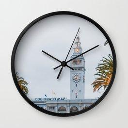 Port of San Francisco Wall Clock