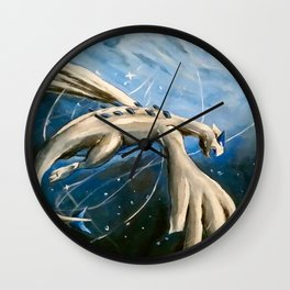 Lugia Under the Sea Wall Clock