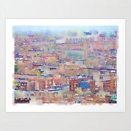 Neighborhood of Make-Believe II Art Print