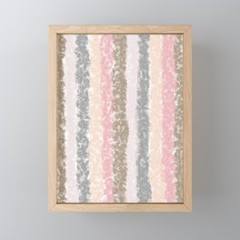 Stripy Stripes  Framed Mini Art Print
