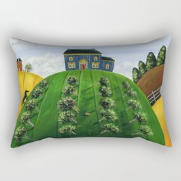 Hilly Heartland Rectangular Pillow