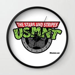 USMNT -- A FEARSOME SOCCER TEAM Wall Clock