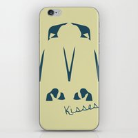 army iPhone & iPod Skins featuring Penguin Army by Sarah Jane Jackson