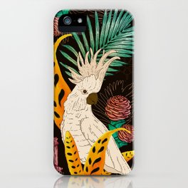 Tropical Cockatoos iPhone Case
