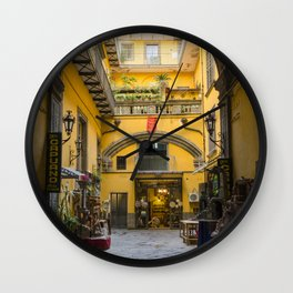 Hidden Naples Wall Clock