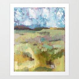 Across the Field Art Print