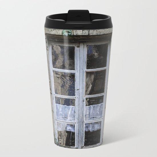 Old Window Metal Travel Mug