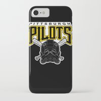 pittsburgh iPhone & iPod Cases featuring Pittsburgh Pilots by Ant Atomic