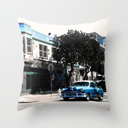 San Francisco Car Throw Pillow