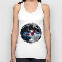 santa Tank Tops featuring Santa by Cs025
