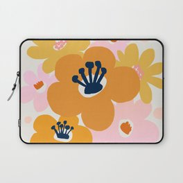 Abstraction_Flowers_Blossom_001 Laptop Sleeve