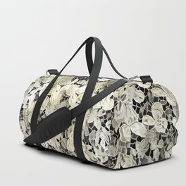 Lacy leaves Duffle Bag