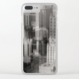 Growth. 130_27 Clear iPhone Case