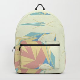 Pastel cutout Abstract Design Backpack