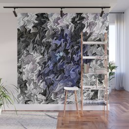 Shades of Blue in to the Light.... Wall Mural